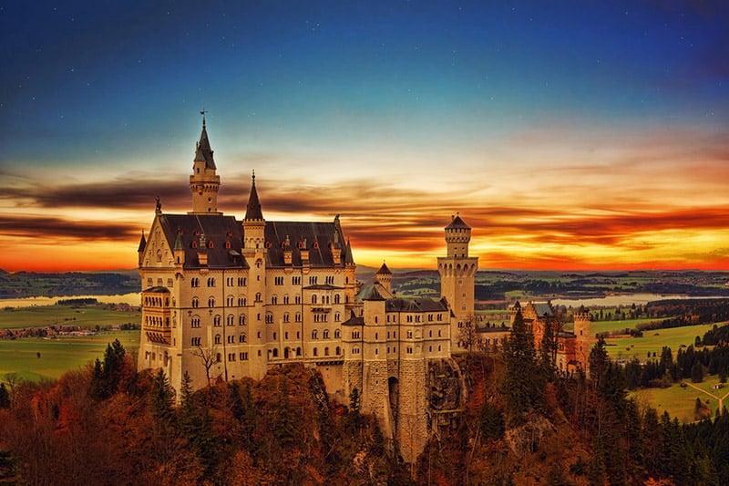 Castelo de Neuschwanstein - Alemanha - johannes-plenio-262802-unsplash