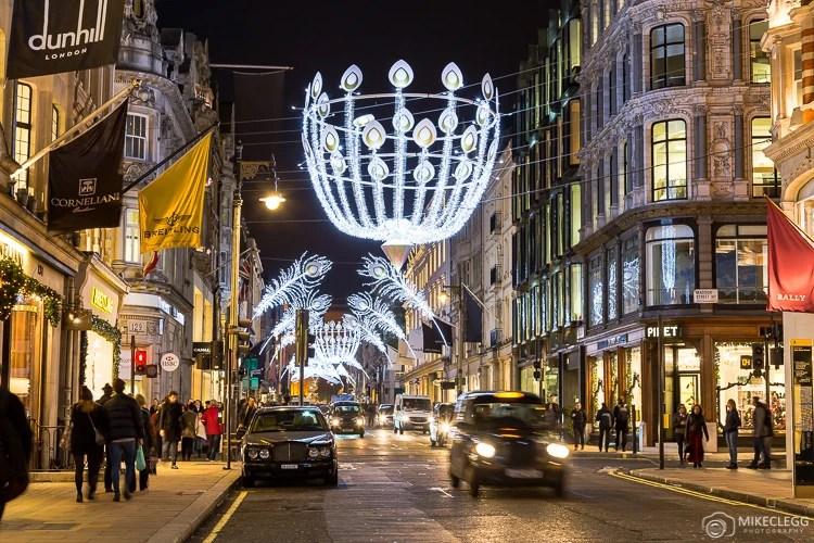 Londres e decorações de natal
