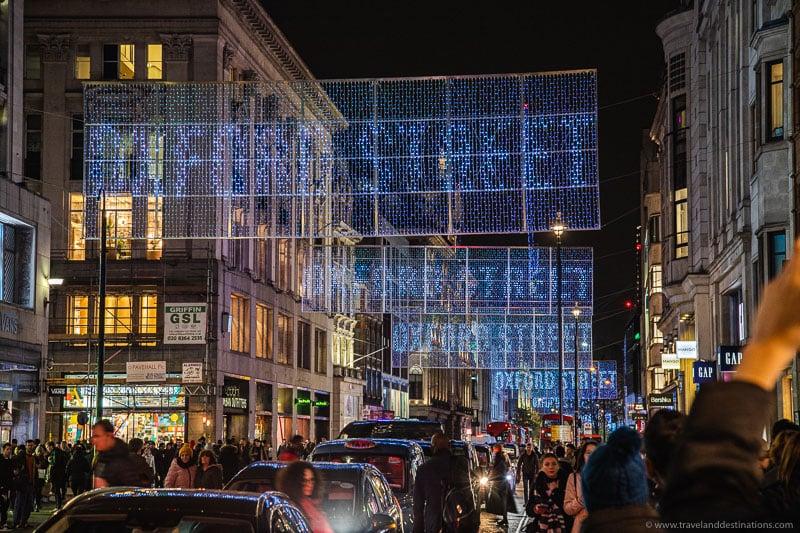 Oxford Street - Luzes de Natal 2019