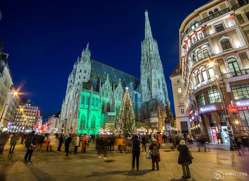 Stephansplatz no Natal