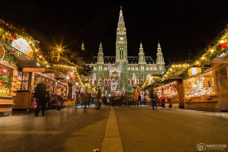 Viena Christmas World em Rathausplatz