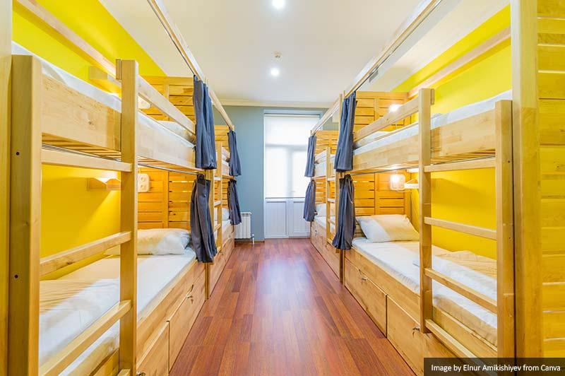 Dormitório de Albergue