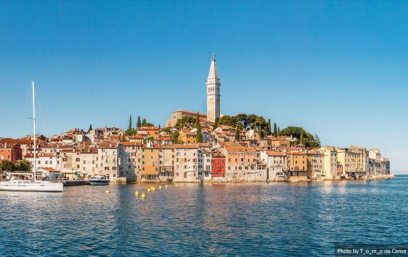 Rovinj, Istria, Croácia