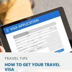 Como obter o seu visto de viagem
