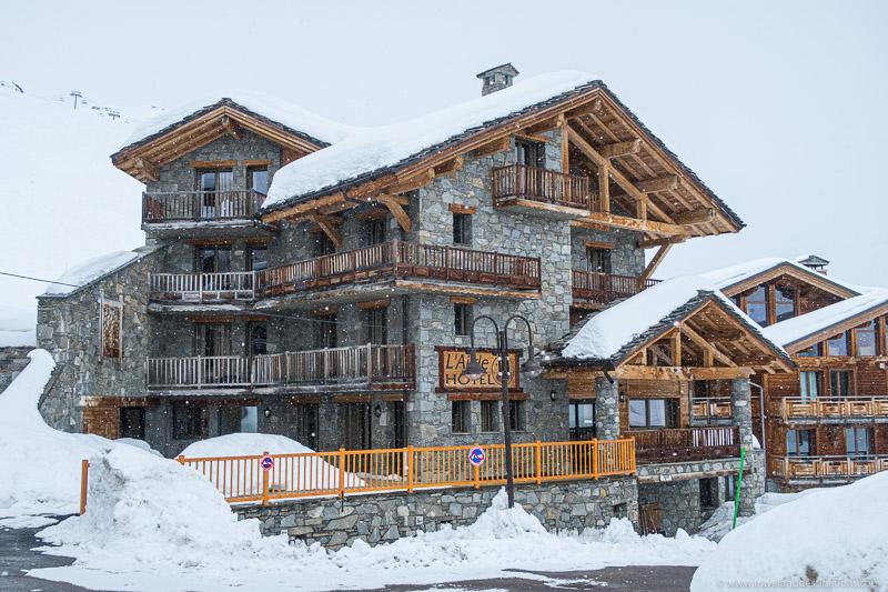 Alojamento de esqui
