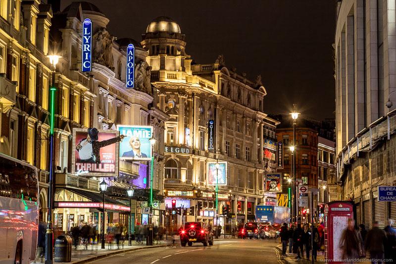 West End de Londres e teatros