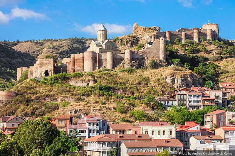 Fortaleza de Narikala Tbilisi