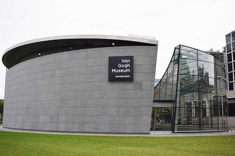 Museu Van Gogh - exterior