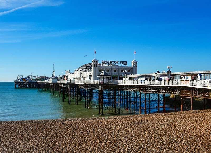 Brighton Beach e Pier