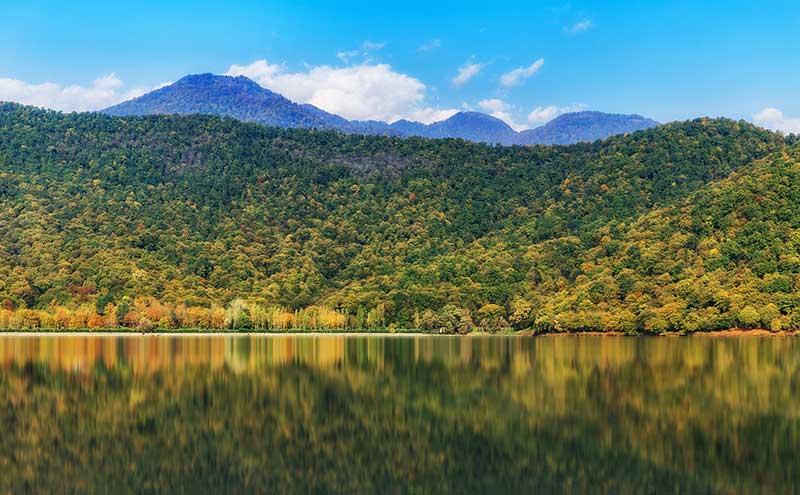 Lago Nohur, Azerbaijão