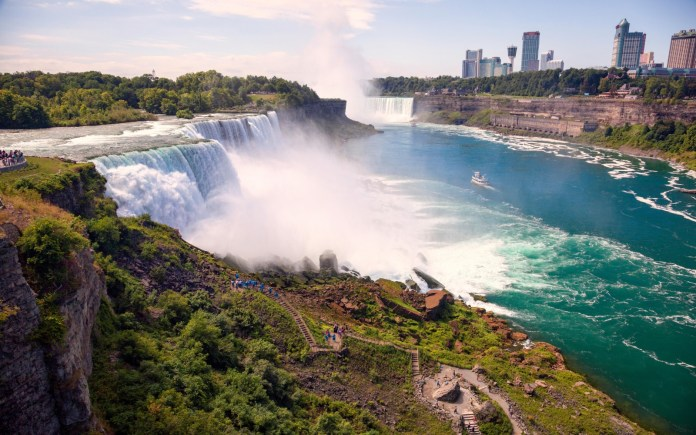 Niagara Falls - New York - Ontario - Top 10 Tourist Attractions in The World