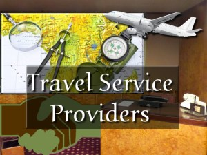 Travel Service Providers or Operators