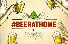 #BeerAtHome