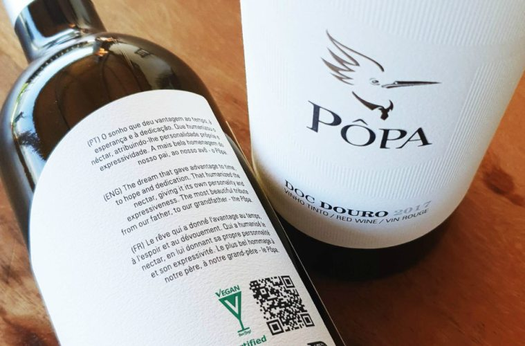 Vinhos vegan Pôpa