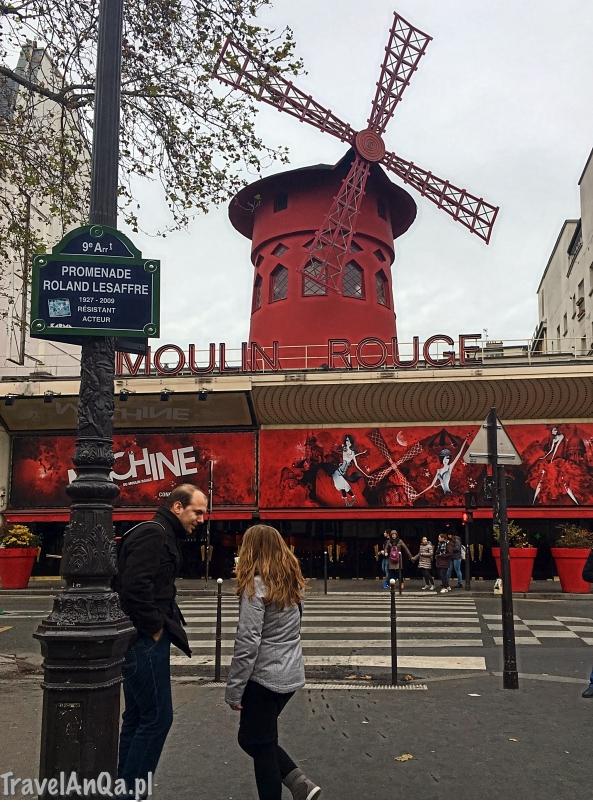 Paryż, Moulin Rouge