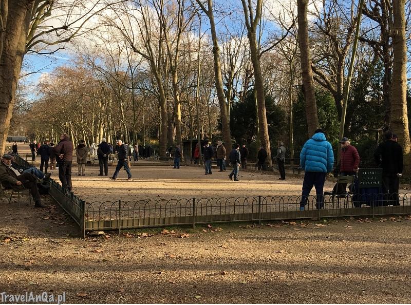 Paryż, Ogrody Luksemburskie