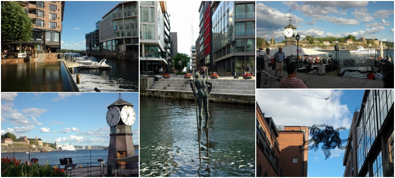 Oslo co warto zobaczyć, Aker Brygge