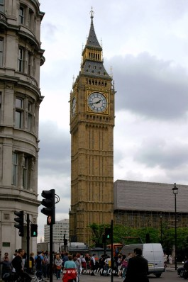 Londyn królewski trakt, Big Ben.