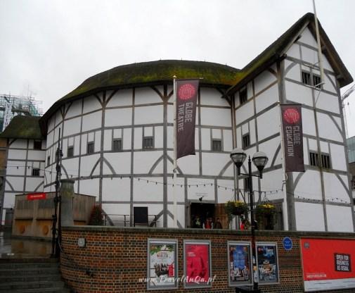 Londyn królewski trakt, Londyn, The Globe - teatr Szekspira