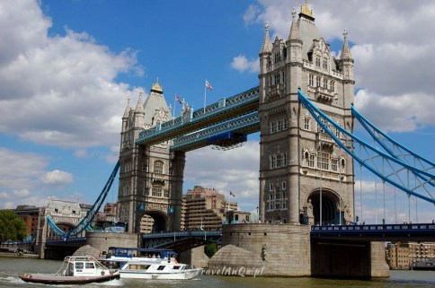 Londyn. Tower Bridge