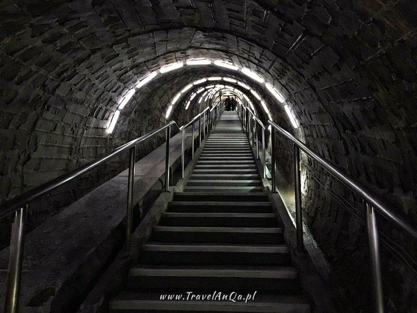 Salina Turda kopalnia soli Rumunia, Wejście dokopalni soli wTurdzie wRumunii