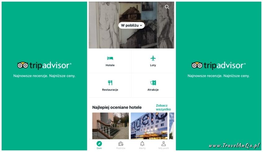 Aplikacje dla podróżników - TripAdvisor
