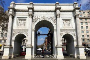 Londyn – gotowa trasa zwiedzania dzień 2 - Marble Arch