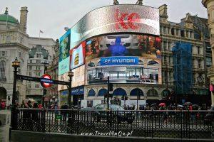 Londyn – gotowa trasa zwiedzania – dzień 2 Piccadilly Circus