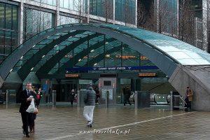 Londyn – gotowa trasa zwiedzania dzień 3 Canaty Wharf Station