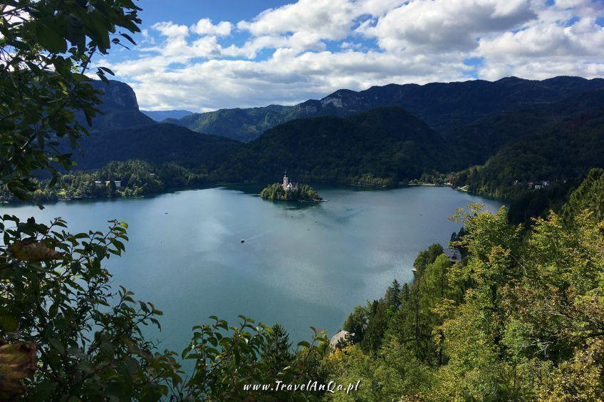 Jezioro Bled Słowenia - Blejski Otok