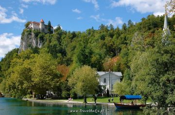 Jezioro Bled Słowenia - Zamek Bled (Blejski Grad)