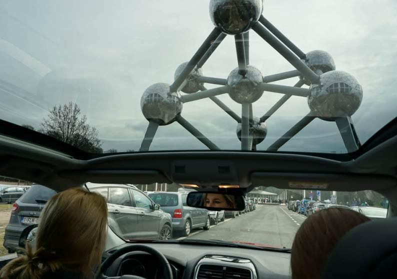 Citytrip Brussel, met Mitsubishi