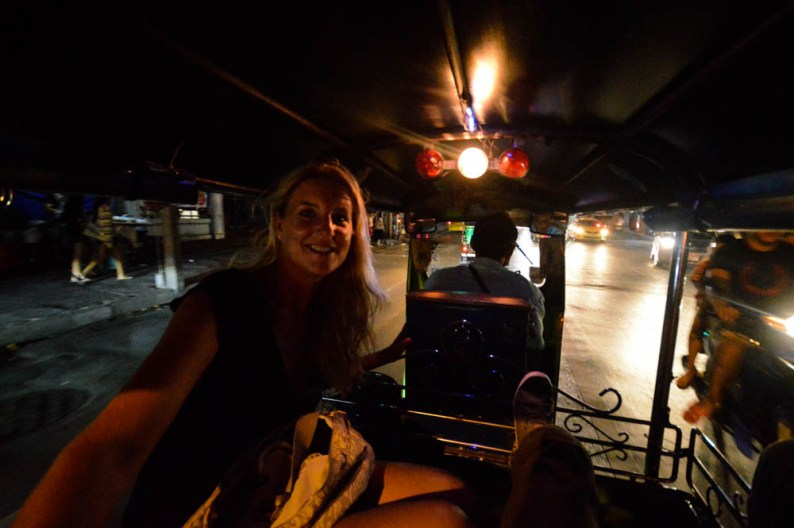 Beleef Bangkok vanuit een TukTuk