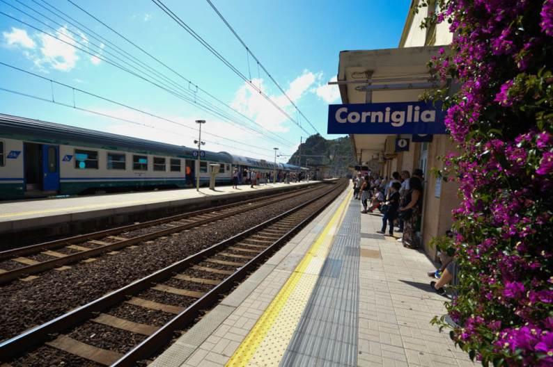 Treinstation Corniglia - Cinque Terre