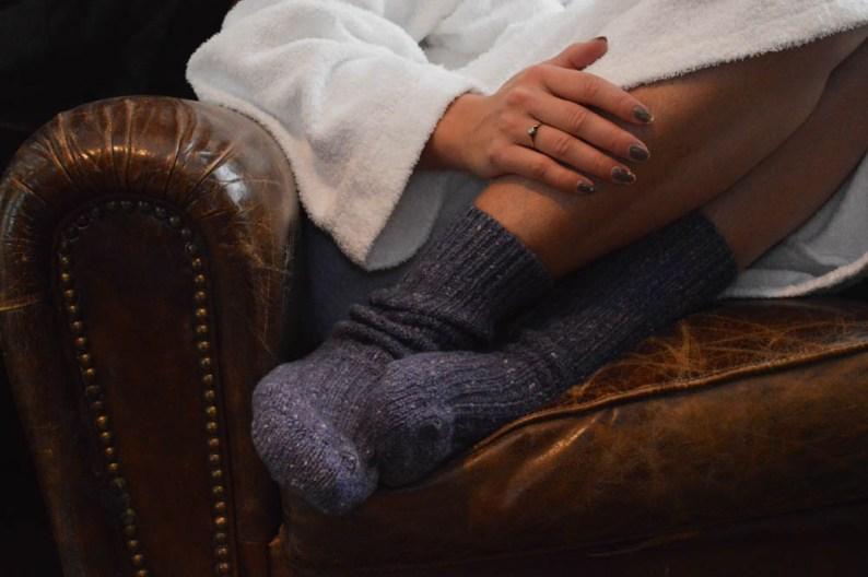 Wollen Donegal-Socks