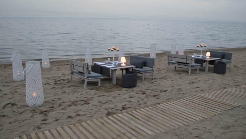 Private dinner @ the beach