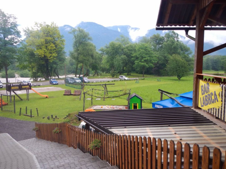 Raften op de Soca rivier - Slovenië