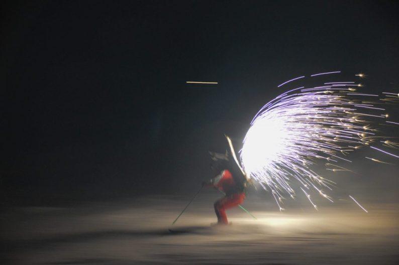 Ski show Zell am See en Kaprun