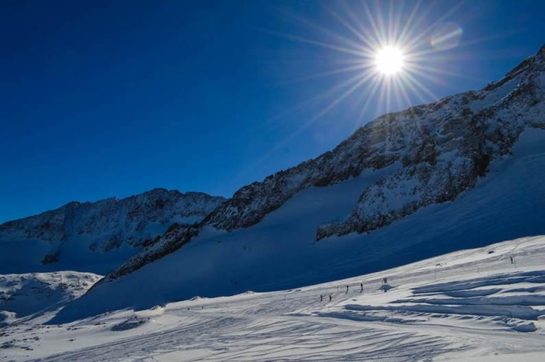 Wintersport in Stubai Vallei