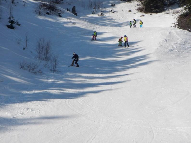 Wintersport in Skiarena Steinach Silbersattel