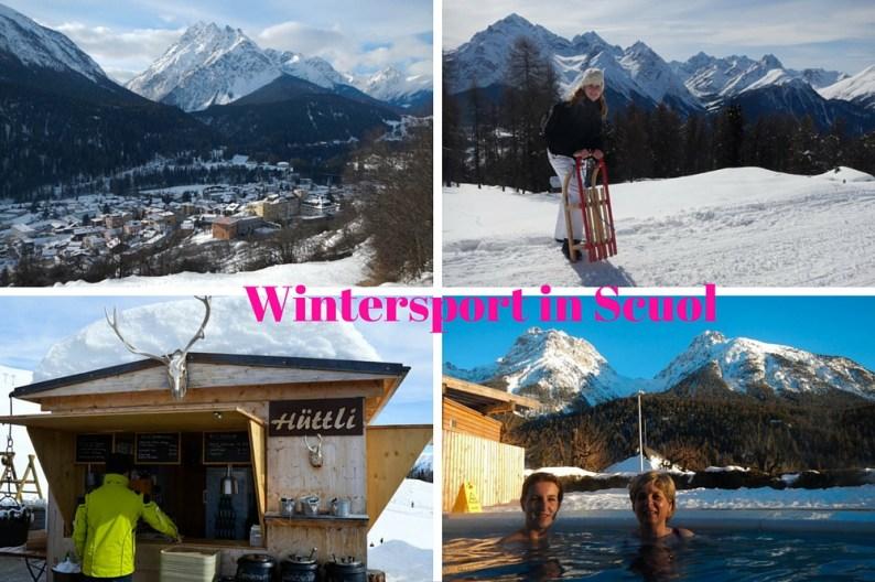 Wintersport in Zwitserse Engadin Scuol