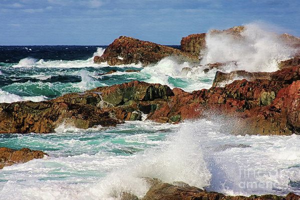 Cape Bonavista, Newfoundland art print by Tatiana Travelways.