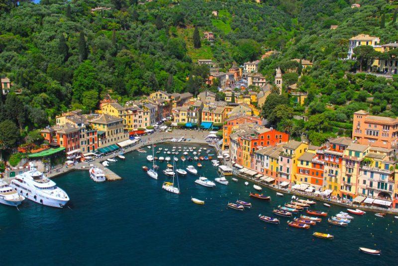 Portofino Italy, a magnificent resort town on the Italian Riviera