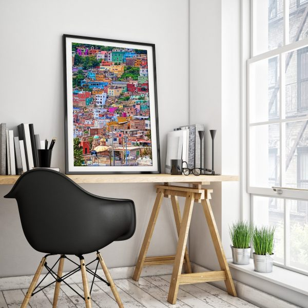 Guanajuato framed art print for home decor