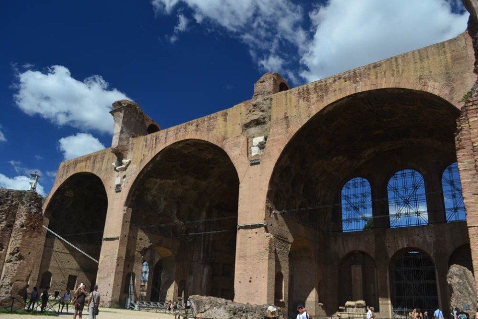 Basilica of Constantine at the Roman Forum