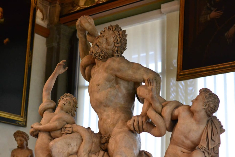 Laocoön and His Sons at the Uffizzi