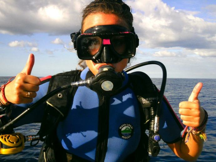 Making the wrong hand signal... #prodiver