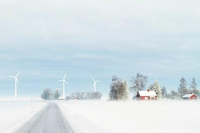Schwedische Windkraft