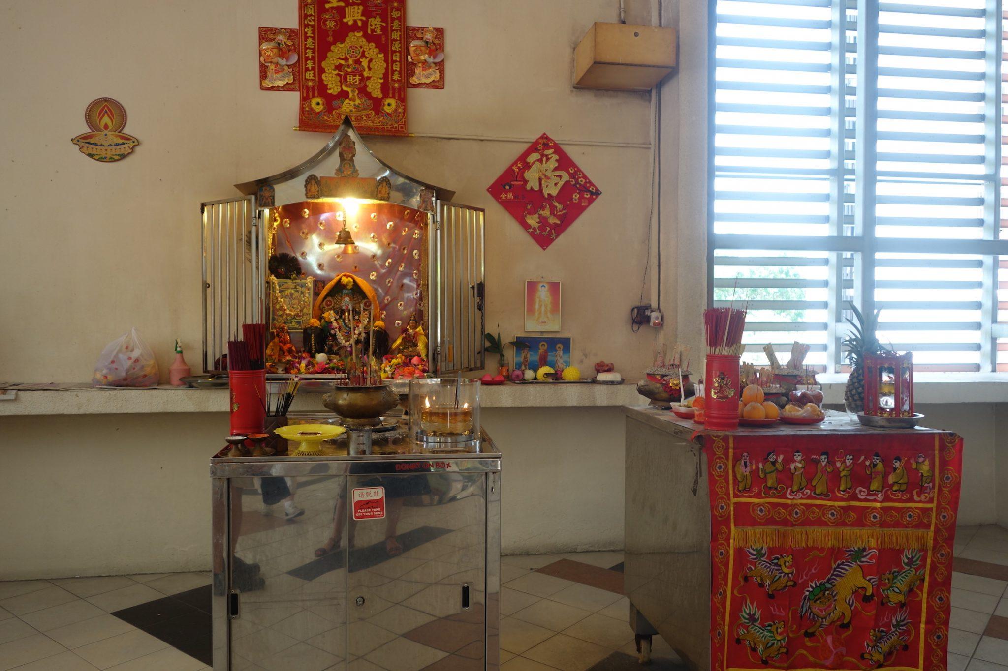 Singapur_LittleIndia_TekkaCentre_Altar