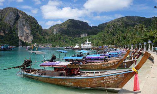 Koh Phi Phi – Eine etwas überlaufene Trauminsel